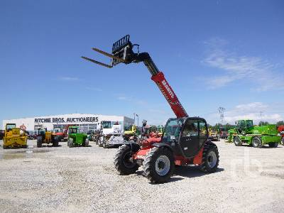 2013 MANITOU MLT735H Telescopic Forklift