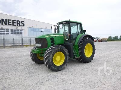 2009 JOHN DEERE 7530 PREMIUM MFWD Tractor