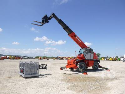 2009 MANITOU MRT2150 Privilege 5000 Kg 4x4x4 Telescopic Forklift