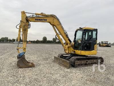 2010 KOMATSU PC88MR-8 Midi Excavator (5 - 9.9 Tons)