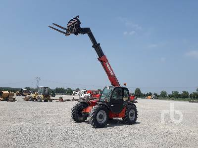 2006 MANITOU MT932 3200 Kg 4x4x4 Telescopic Forklift