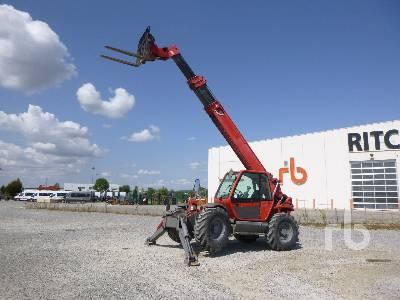 2008 MANITOU MT1740SLT 4000 Kg 4x4x4 Telescopic Forklift
