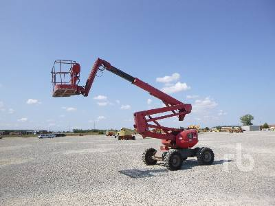 2008 MANITOU A160 ATJ Articulated Boom Lift