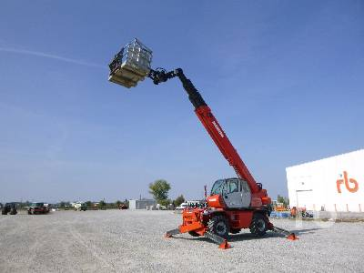 2009 MANITOU MRT2540 Privilege 4000 Kg 4x4x4 Telescopic Forklift