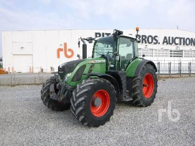 2012 FENDT 724 VARIO MFWD Tractor