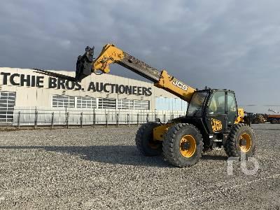 JCB 550-80 AGRI PLU 5000 Kg 4x4x4 Telescopic Forklift