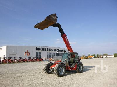 2005 MANITOU MLT935H 3500 Kg 4x4x4 Telescopic Forklift