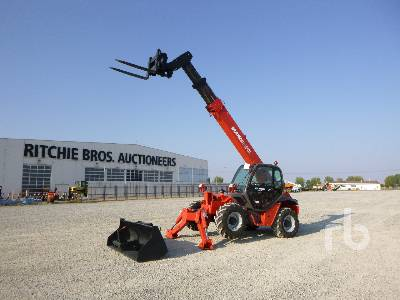 2008 MANITOU MVT1332 3200 Kg 4x4x4 Telescopic Forklift