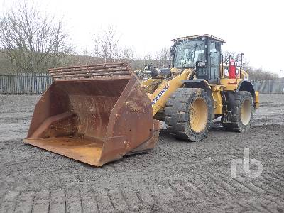2016 CATERPILLAR 966M High Lift Wheel Loader