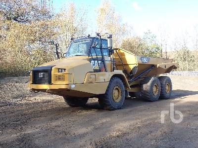 2016 CATERPILLAR 725C2 6x6 Articulated Dump Truck