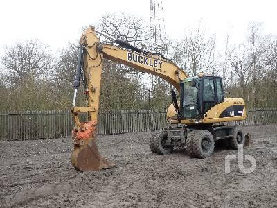 2008 CATERPILLAR M315D 4x4 Mobile Excavator