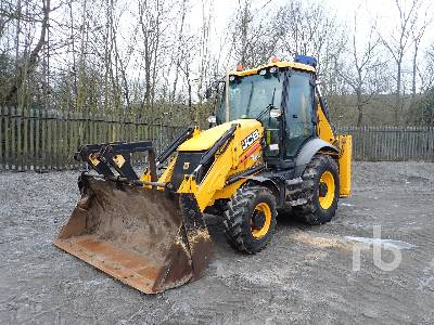 2016 JCB 3CX ECO 4x4 Loader Backhoe