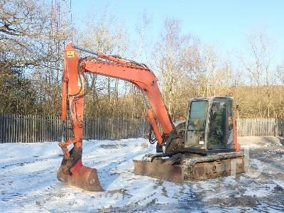 2013 HITACHI ZX85-5A Midi Excavator (5 - 9.9 Tons)