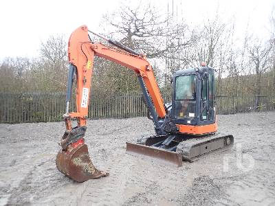 2013 HITACHI ZX52U Midi Excavator (5 - 9.9 Tons)