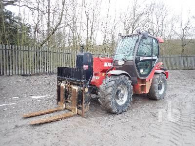 2014 MANITOU MHT780 4x4x4 Telescopic Forklift
