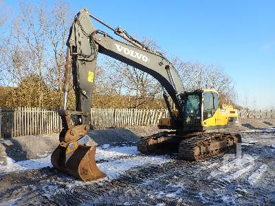 2011 VOLVO EC300DL Hydraulic Excavator
