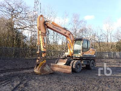 2013 HYUNDAI ROBEX 140W-9 4x4 Mobile Excavator
