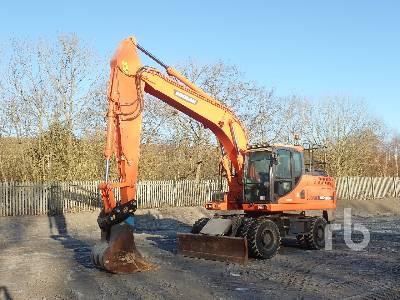 2016 DOOSAN DX190W-3 4x4 Mobile Excavator