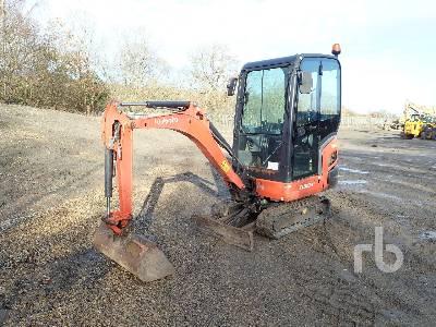 2012 KUBOTA KX015-4 Mini Excavator (1 - 4.9 Tons)