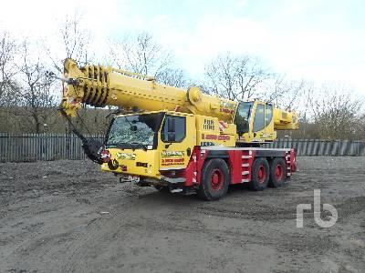 2015 LIEBHERR LTM 1060-3.1 60 Ton 6x4x6 All Terrain Crane