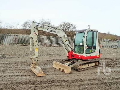 2007 TAKEUCHI TB135 Mini Excavator (1 - 4.9 Tons)