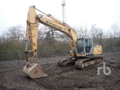 2008 NEW HOLLAND/KOBELCO E215B Hydraulic Excavator