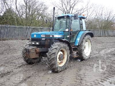 NEW HOLLAND 8340 MFWD Tractor