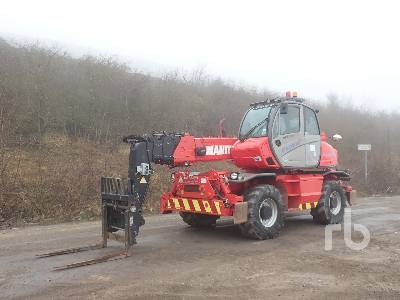 2014 MANITOU MRT2150+ Telescopic Forklift