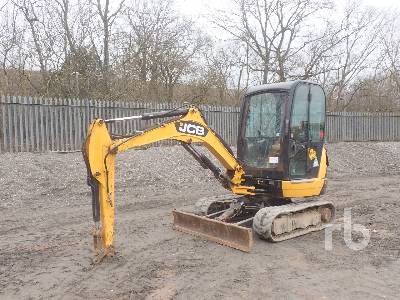 2013 JCB 8026 Mini Excavator (1 - 4.9 Tons)