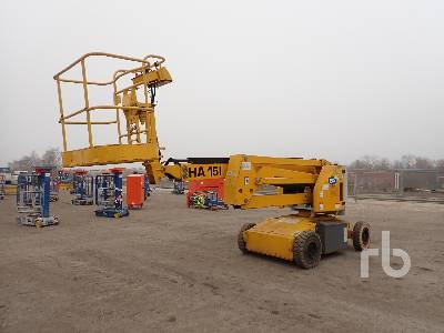 2003 HAULOTTE HA15I Electric Articulated Boom Lift