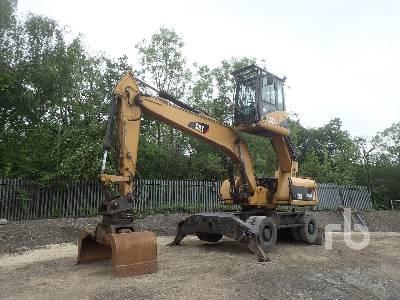 2008 CAT M318D MH Mobile Excavator