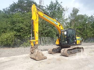 2018 JCB JS131 LC Hydraulic Excavator