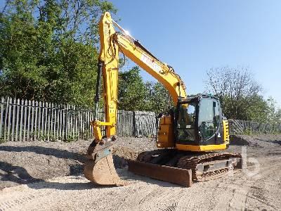 2017 JCB JZ141 T4F Hydraulic Excavator