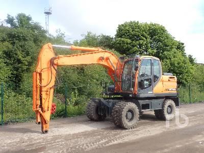 2008 DOOSAN DX140W Mobile Excavator