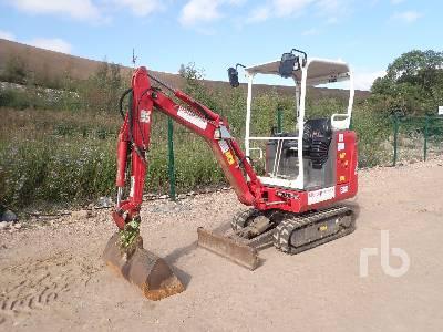 2015 VOLVO EC18D Mini Excavator (1 - 4.9 Tons)
