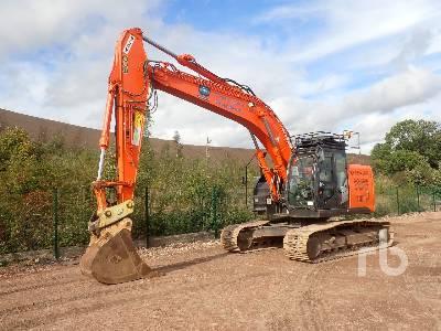 2016 HITACHI ZX225USRLC-5B Hydraulic Excavator