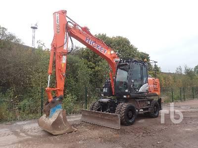 2016 HITACHI ZX140W-5B Mobile Excavator