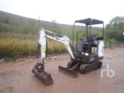 2015 BOBCAT E17 Mini Excavator (1 - 4.9 Tons)