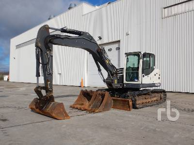 2016 TEREX TC125 MONO Hydraulic Excavator