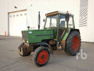 1981 FENDT FW178 4WD Agricultural Tractor MFWD Tractor