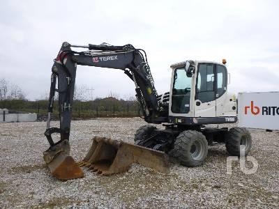2014 TEREX TW85 Mobile Excavator