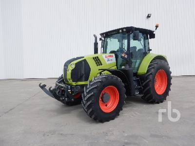2017 CLAAS ARION 620 CIS Tracteur Agricole 4x4 MFWD Tractor