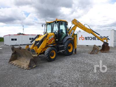 2015 JCB 3CX14M4WA 4x4 Loader Backhoe