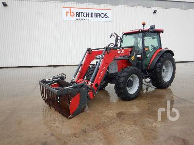2012 MCCORMICK T115 MAX T3 MFWD Tractor