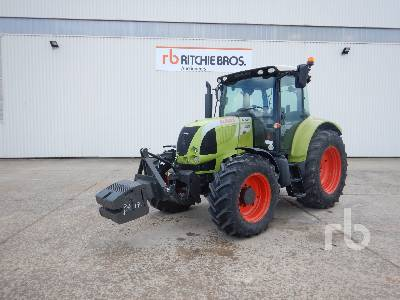 2009 CLAAS ARION 540CIS MFWD Tractor