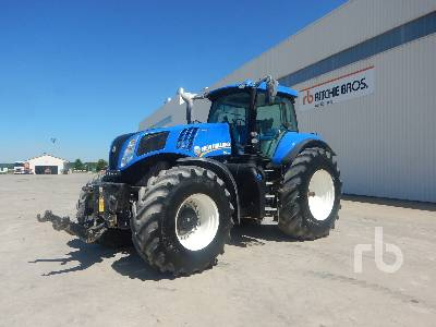 2016 NEW HOLLAND T8.380 AUTOCOMMAND 4WD Agricultural Tractor MFWD Tractor