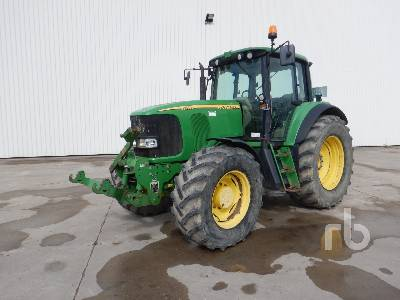 2002 JOHN DEERE 6920S 4WD Agricultural Tractor MFWD Tractor