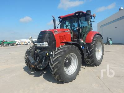 2018 CASE IH PUMA CVX 175 MFWD Tractor