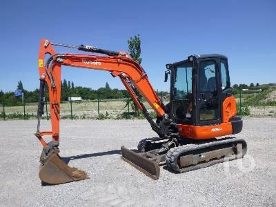 2017 KUBOTA KX042-4 Mini Pelle Mini Excavator (1 - 4.9 Tons)