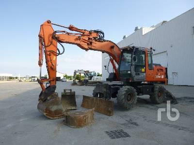 2007 HITACHI ZX130W Mobile Excavator